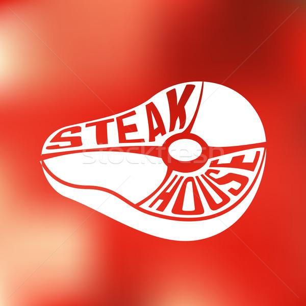 Stock fotó: Kreatív · terv · erő · bent · steak · ház