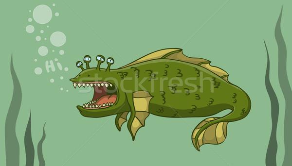 Sea Monster Stock photo © Dashikka