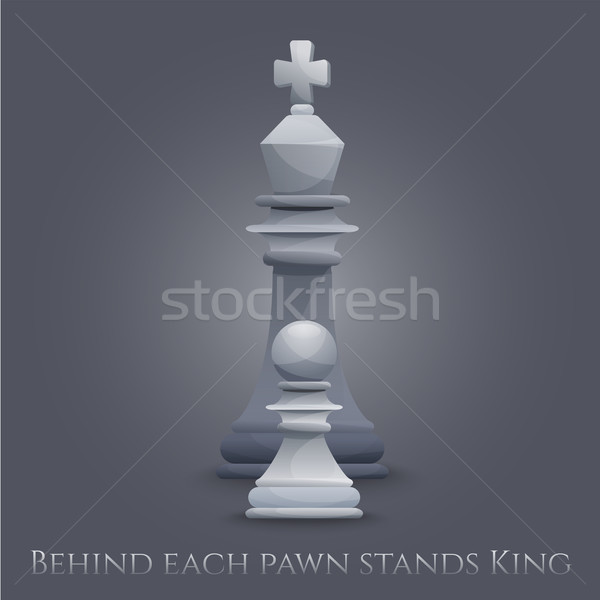 Vector Chess Figures Stock photo © Dashikka