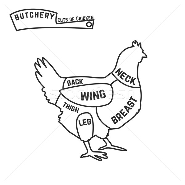 Butcher Diagram Stock Photos Stock Images And Vectors