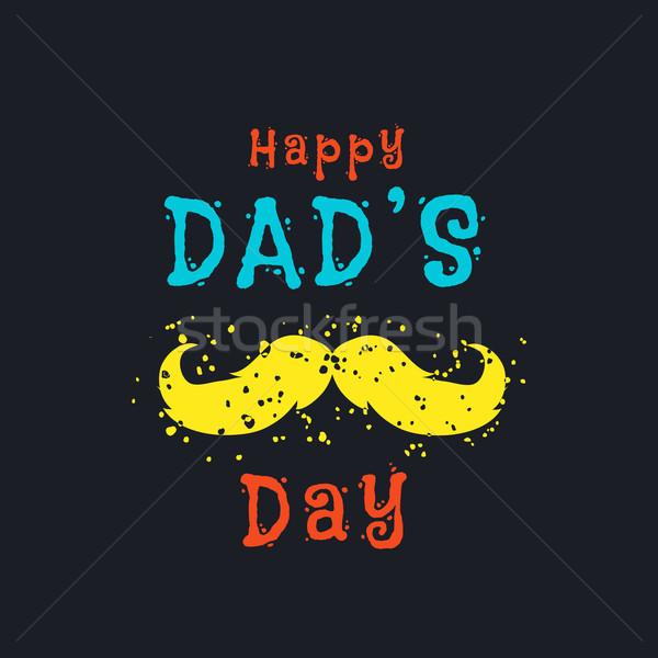 Fathers day Stock photo © Dashikka