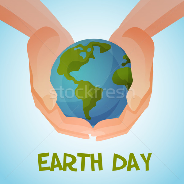 Earth day Stock photo © Dashikka