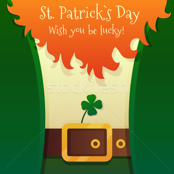 Leprechaun Stock photo © Dashikka