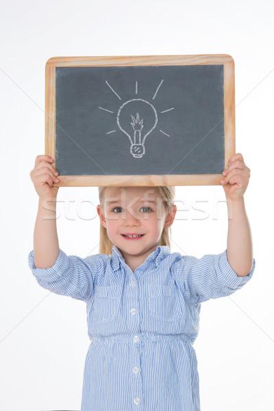 женщины Kid право Идея молодые ребенка Сток-фото © Dave_pot