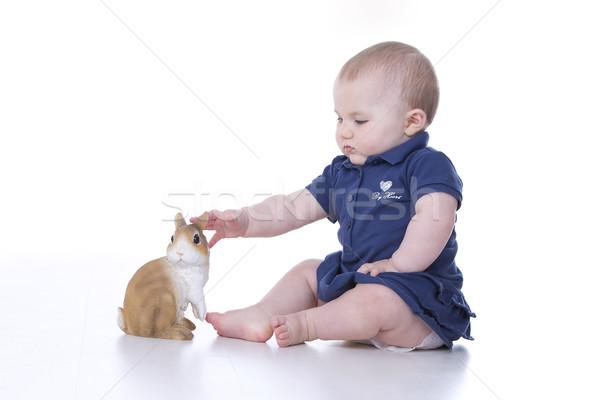 baby grasps Stock photo © Dave_pot