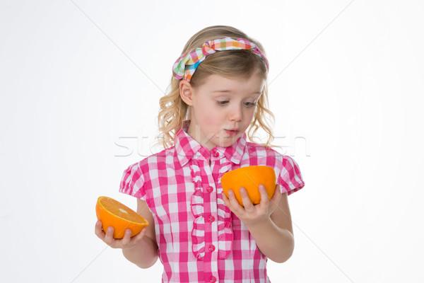 surpised female child Stock photo © Dave_pot