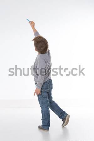 Zagęszczony mały dziecko młodych dziecko co Zdjęcia stock © Dave_pot