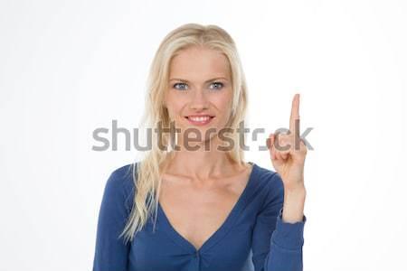 Młodych piękna dziewczyna pretty woman uśmiecha Zdjęcia stock © Dave_pot