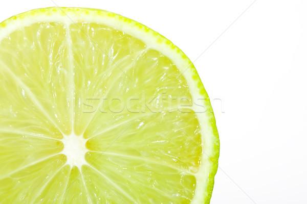 Taze kireç doğa arka plan meyve Stok fotoğraf © david010167