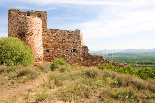 old spanish castle Stock photo © david010167