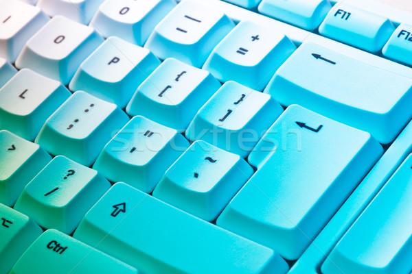 Kolorowy studio działalności Internetu technologii Zdjęcia stock © david010167