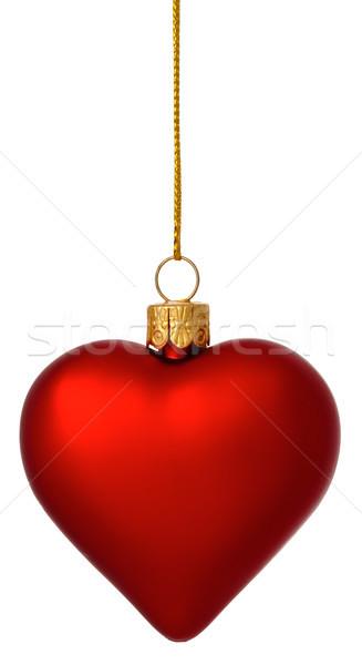 Noel kalp önemsiz şey altın iplik Stok fotoğraf © david010167