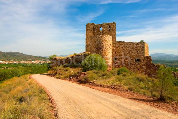 Eski İspanyolca kale Stok fotoğraf © david010167
