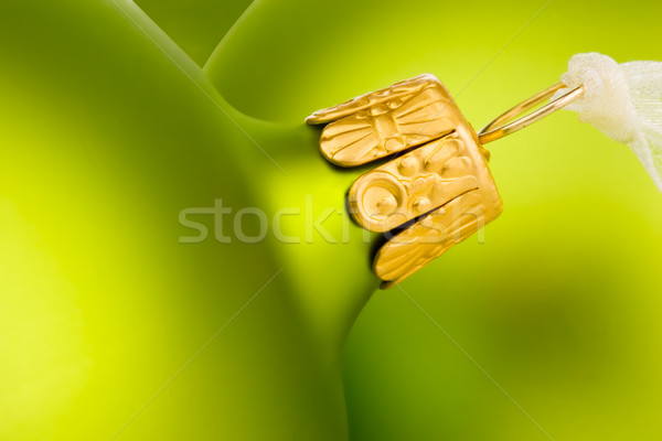 Stock photo: Go green this Christmas