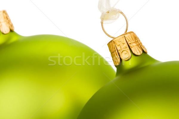 Go green this Christmas Stock photo © david010167