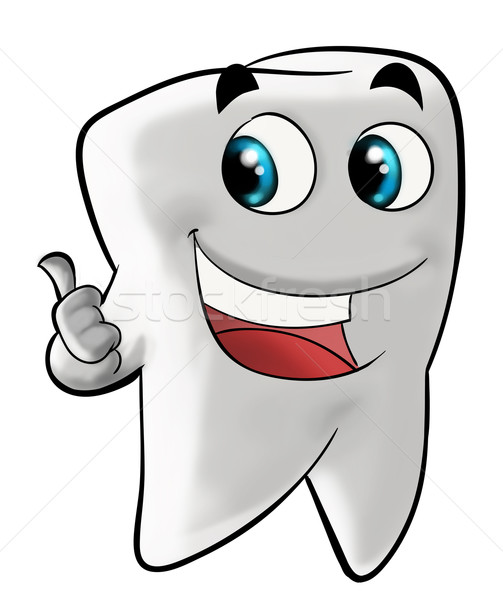 Smiling molar tooth Stock photo © davisales