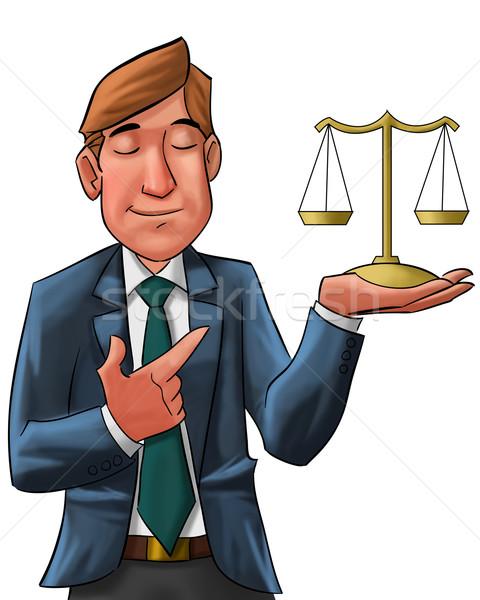 the lawyer Stock photo © davisales