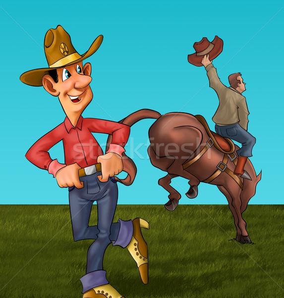 the rodeo Stock photo © davisales