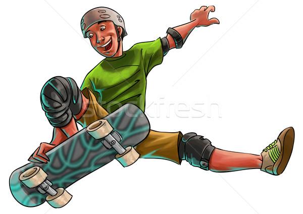 skater Stock photo © davisales