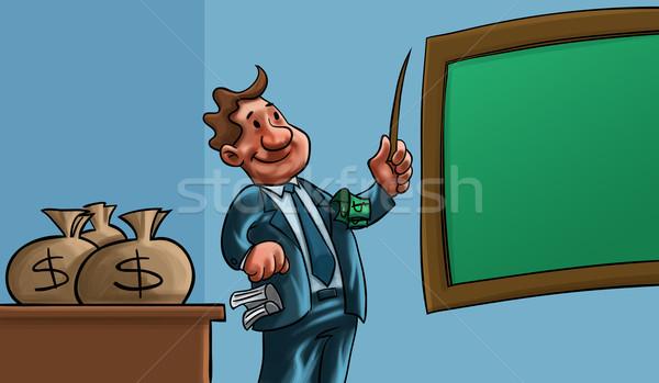 Człowiek nauczania ceny nauczyciel szkoły edukacji Zdjęcia stock © davisales