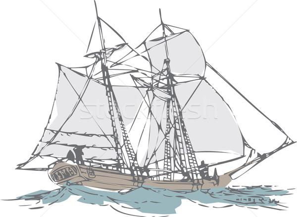 old sailboat  Stock photo © davisales