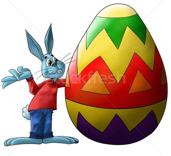 big easter egg Stock photo © davisales