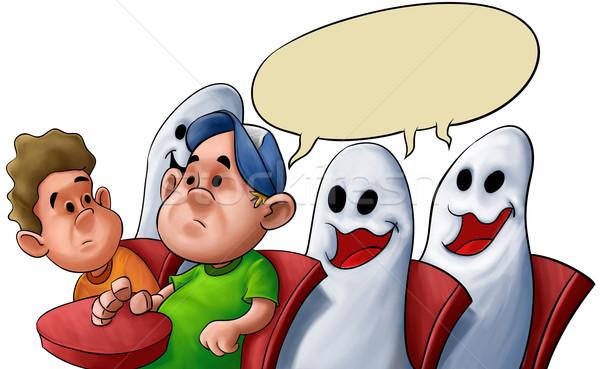 ghost classroom Stock photo © davisales