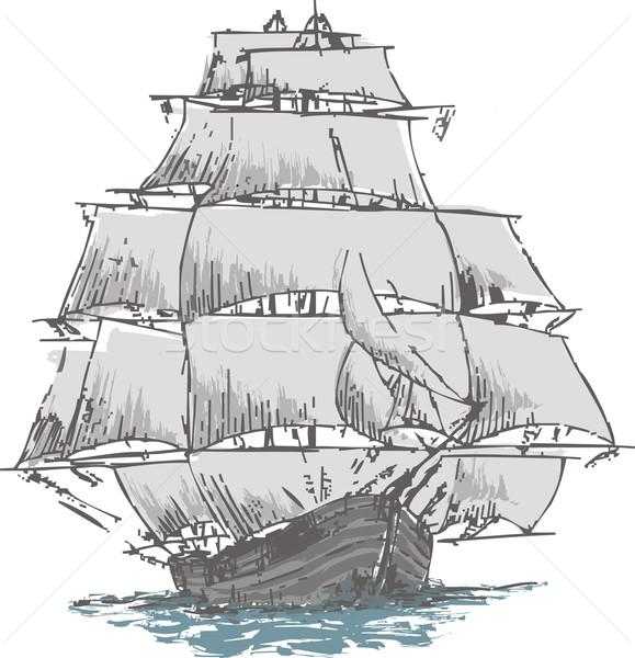 sailboat Stock photo © davisales