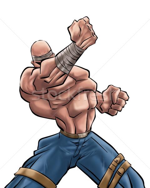 the man strong Stock photo © davisales