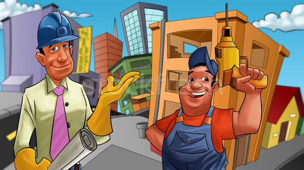 constructors Stock photo © davisales