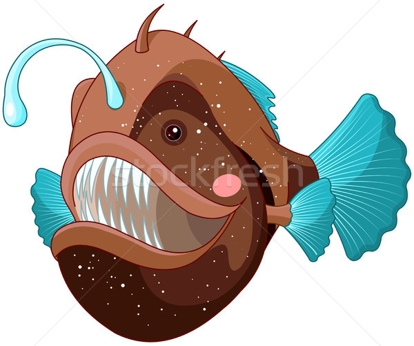 Angler Fish Stock photo © Dazdraperma