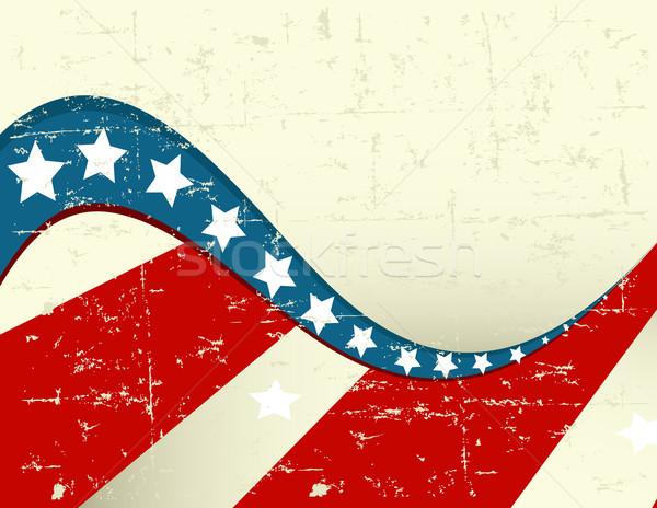 Patriotic grange Background Stock photo © Dazdraperma