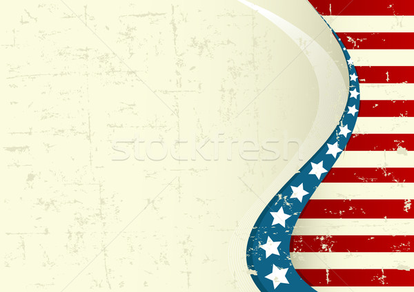Amerikai negyedik Stock fotó © Dazdraperma