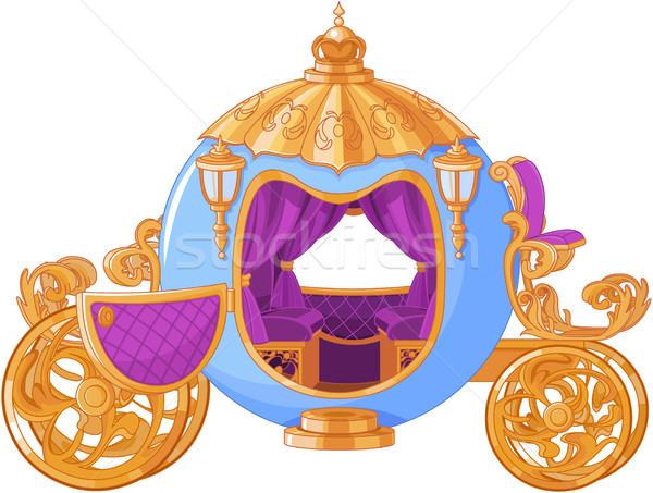 Fairy Tale Carriage  Stock photo © Dazdraperma