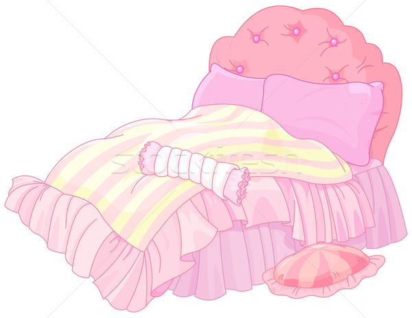 Princess Bed Stock photo © Dazdraperma