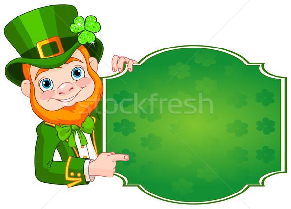St. Patrick's Leprechaun Stock photo © Dazdraperma