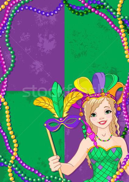 Mardi Gras Banner Stock photo © Dazdraperma