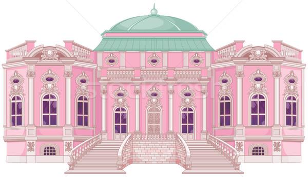 ロマンチックな 宮殿 王女 かわいい 建物 ホーム ストックフォト © Dazdraperma