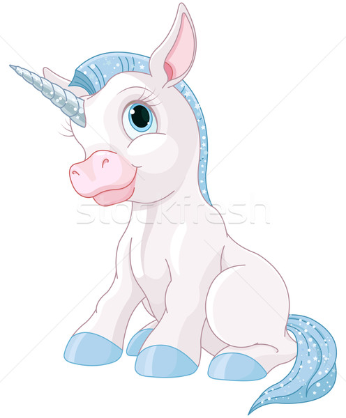 Magic Unicorn Stock photo © Dazdraperma