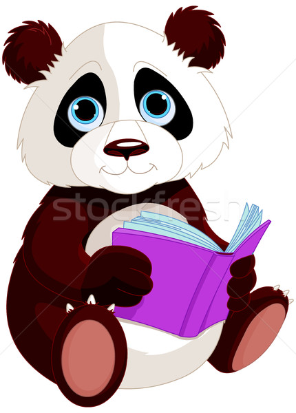 Cute Panda  Stock photo © Dazdraperma