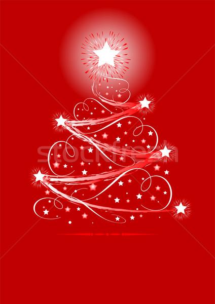 Christmas tree Stock photo © Dazdraperma