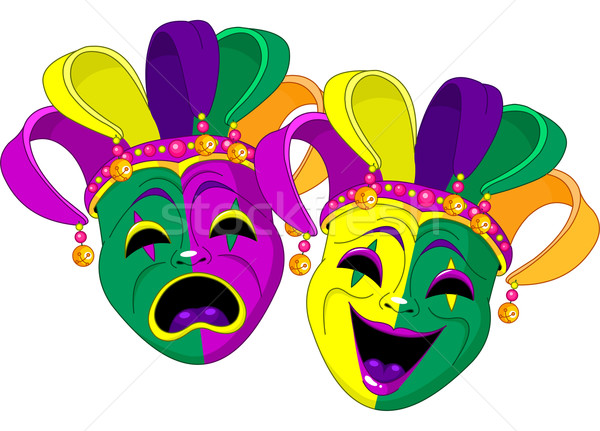 Mardi Gras Masks Stock photo © Dazdraperma