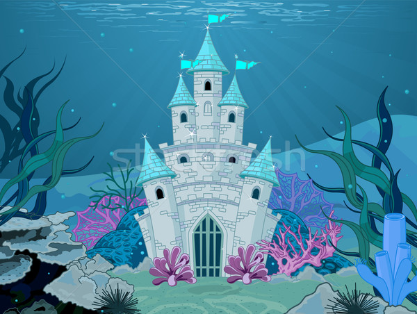 Mermaid Castle  Stock photo © Dazdraperma