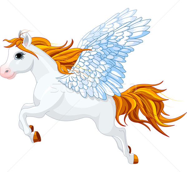 Pegasus Stock photo © Dazdraperma
