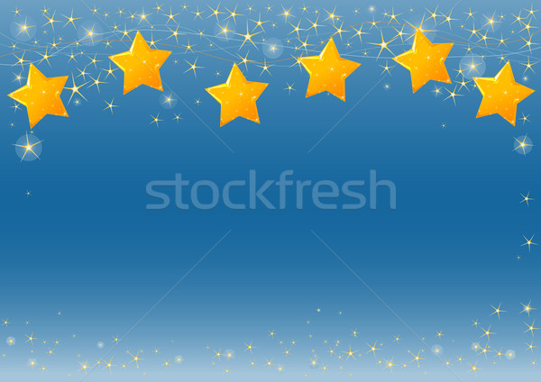 Starry Sky Stock photo © Dazdraperma