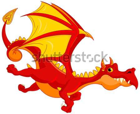 Red Dragon Stock photo © Dazdraperma