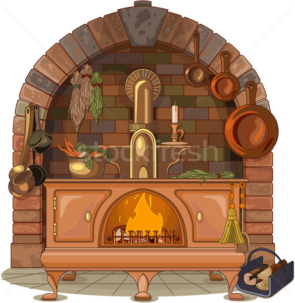 Wood Stove  Stock photo © Dazdraperma
