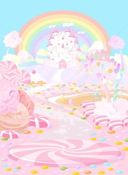Stock photo: Candy land