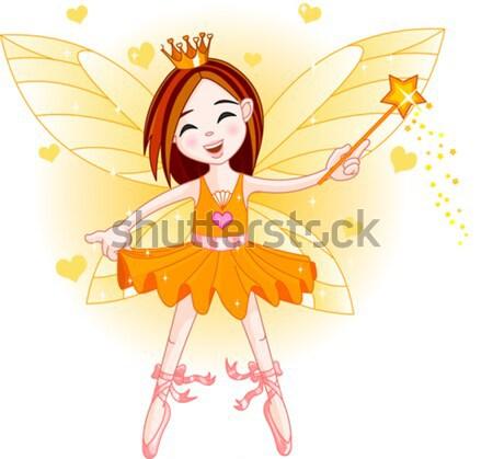 Cute fairy Stock photo © Dazdraperma