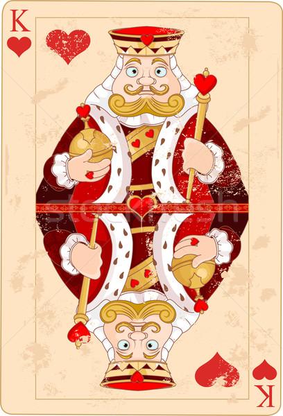 King of hearts Stock photo © Dazdraperma